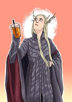 Thranduil by DominiqueDuong