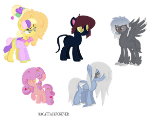 Halloween Adopts (2018) by macattackforever