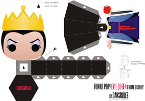 Funko Pop! Evil Queen Disney by Dansrules by dansrules