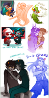 Homestuck Doodles part1 by Anyarr
