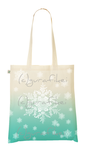 Snowflakes Tote design by keiZap