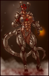 HALLOWEEN MUSCLE: DR. OLIVIA PIERCE (COLORED) by B9TRIBECA