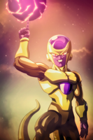 Golden Frieza by AcCreed