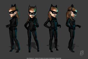 Catwoman Toon by patokali