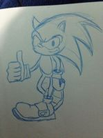 Sonic by Klefus