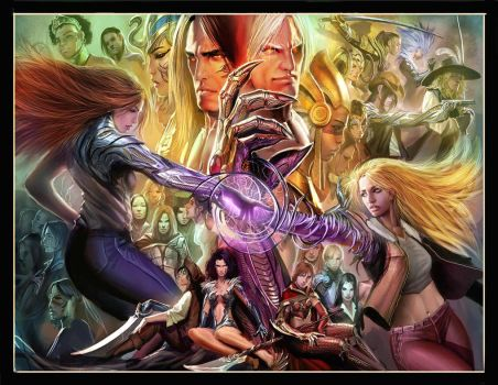 witchblade 116 pages 2 and 3 by nebezial
