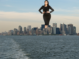 Nicki Minaj Takes New York by DeckartJohn