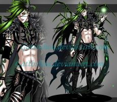MALE ADOPT 92 [ Auction ] [CLOSED ] by GattoAdopts