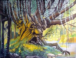 Old Man Willow :)) by WormholePaintings