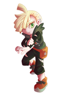 Pkmn Gladion by ThaIssing