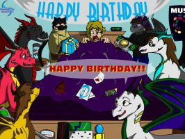 Birthday surprize by dansdaughter
