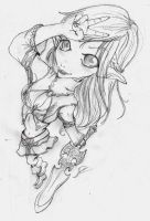 Lineage Elf by Hibrys