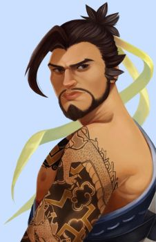 Hanzo by beammetothemoon
