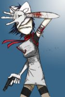 The Great Escape from Plastic Beach - Noodle by Vinicius-Ramos