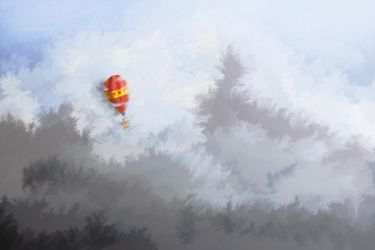 Red Balloon by kaolincash