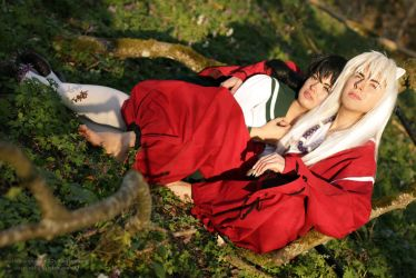 Inuyasha Week Day 4 - With You by WhiteRavenCosplay