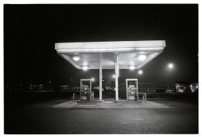 NYC - Gas station by maxyme