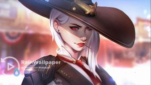 Ashe Overwatch by Jimking