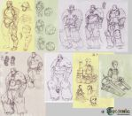 Trudy's Mechanicals concepts by kasai