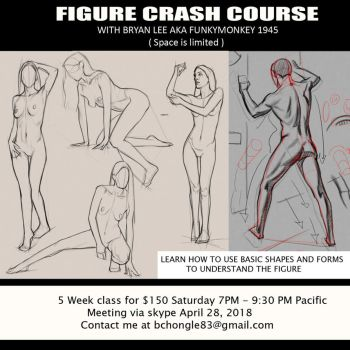 Figure Crash Course Flyer by FUNKYMONKEY1945