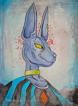Lord Beerus by BrandiFabiano