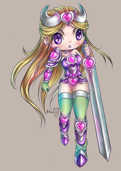 Knight of Hearts LOVE 6 ID Card by HarukArt