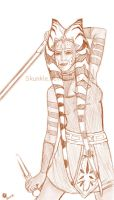 Ahsoka Tano - all grown up by Skunkle