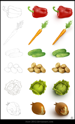 Vegetables by Azot2018