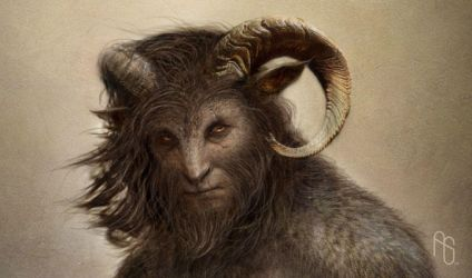 Satyr Concept 1 by aaronsimscompany