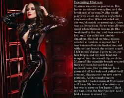 Becoming Mistress (TG Caption) by ourmonkeymasters