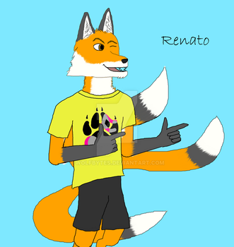 Renato (3 Tails) by WolfBytes