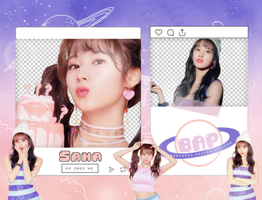 Pack Png 1399 // Sana (TWICE) (What Is Love) by BEAPANDA