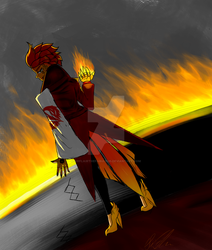 RWBY OCS - The Phoenix, Inferna Phoenix - TeamPHNX by SirFlairTheFabulous