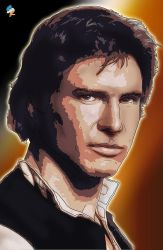 Han Solo cell photo manipulation by StamayoStudio