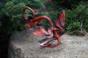 spiral dragon from Flightrising by kessan