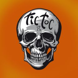 Tic-Toc Skull by Day-Breaker