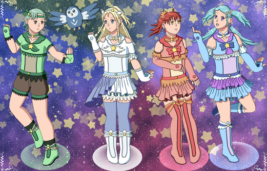 Elemental Star Pretty Cure, Assemble! by ErinPrimette