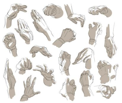 Hand Reference by artisticxhelp
