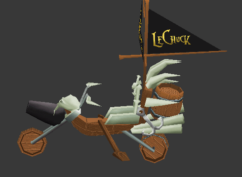 LeChuck Pirate Bike by Lowpoly-Workshop