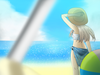 a day in the beach by bnkthecreator