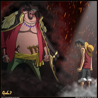 MarshalDTeach VS MonkeyDLuffy by goku003