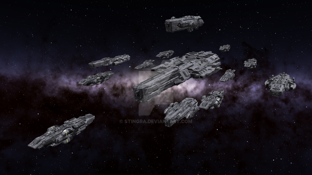 Imperial Combat Group by Stingra