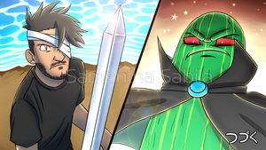 Mark VS The Dark Lord Pickle by SonicSpeedz