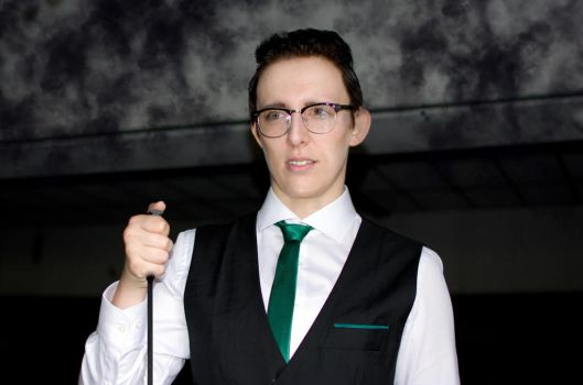 Edward Nygma Cosplay (The Riddler Cosplay Gotham) by MikaPoison