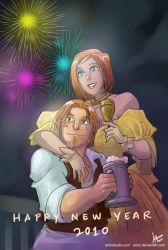 DA - Happy New Year by aimo