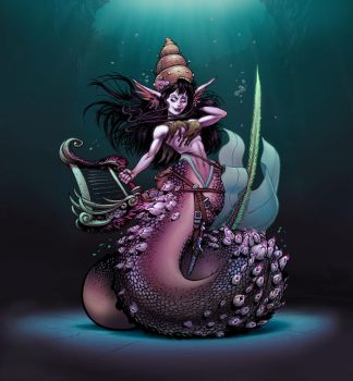 Cccjam New Mermaid by danimation2001