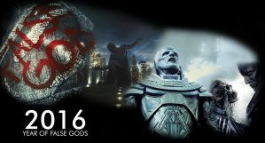 2016 Year of the False Gods by JMK-Prime