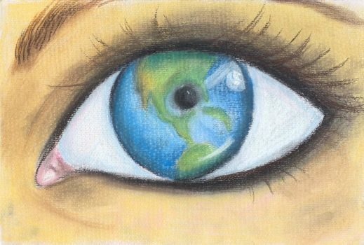 The Eye of the Earth by LadyFever