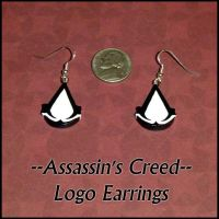 Assassins Creed Charm Earrings by YellerCrakka