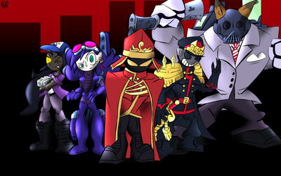The Smiling Army Contest Entry by Thesimpleartist4